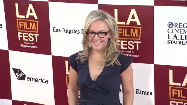 rachael harris at 2012 los angeles film festival premiere of 'to rome with love' rachael harris at regal cinemas la live on june 14 2012 in los... - rachael harris stock videos and b-roll footage