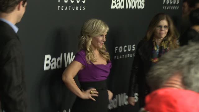 rachael harris at bad words los angeles premiere presented by focus features in los angeles ca - rachael harris stock videos and b-roll footage