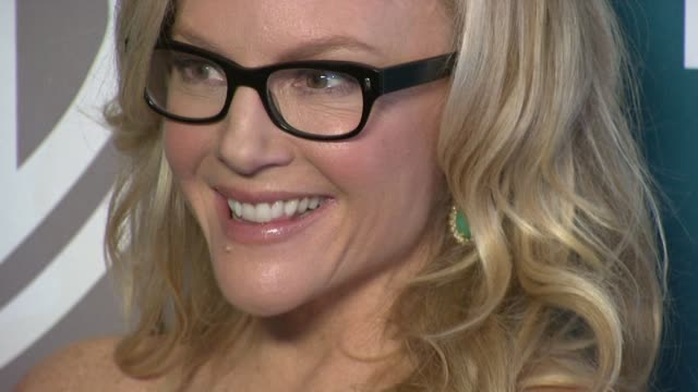 rachael harris at the 13th annual warner bros and instyle golden globe afterparty in beverly hills ca on 1/15/12 - rachael harris stock videos and b-roll footage