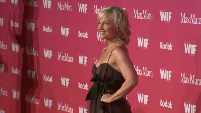 rachael harris at the 2009 women in film crystal lucy awards at century city ca - rachael harris stock videos and b-roll footage