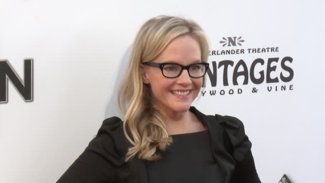 rachael harris at the book of mormon los angeles opening night on 9/12/12 in los angeles ca - rachael harris stock videos and b-roll footage