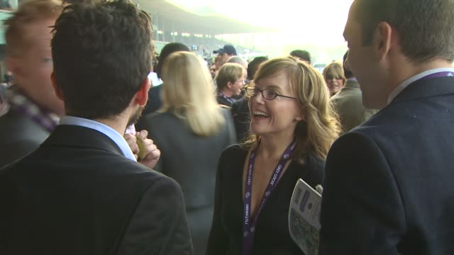 rachael harris at the breeders' cup world thoroughbred championships at arcadia ca. - championships stock videos & royalty-free footage