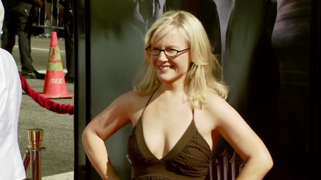 rachael harris at the 'harry potter and the order of the phoenix' us premiere at grauman's chinese theatre in hollywood california on july 8 2007 - rachael harris stock videos and b-roll footage