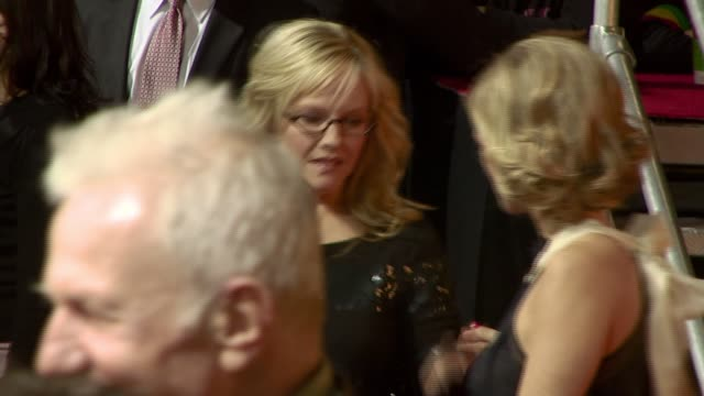rachael harris at the 'walk hard the dewey cox story' premiere at grauman's chinese theatre in hollywood california on december 13 2007 - rachael harris stock videos and b-roll footage