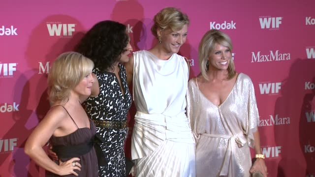 rachael harris tracee ellis ross nicola maramotti cheryl hines at the 2009 women in film crystal lucy awards at century city ca - rachael harris stock videos and b-roll footage