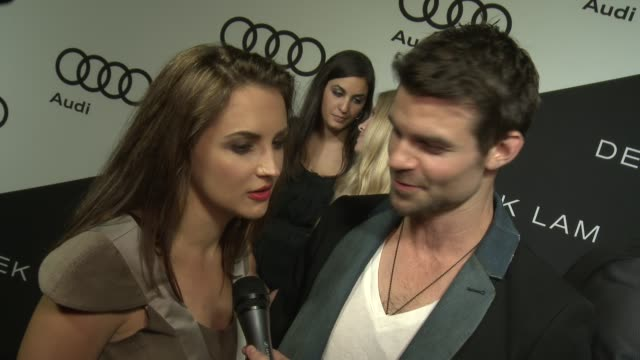 Rachael Leigh Cook Daniel Gillies on being at the event at Audi And Derek Lam Kick Off Emmy Week 2012 on 9/16/12 in Los Angeles CA