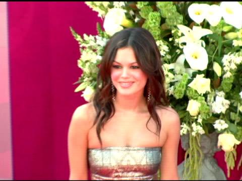 Rachel Bilson at the 2005 Emmy Awards at the Shrine Auditorium in Los Angeles California on September 18 2005