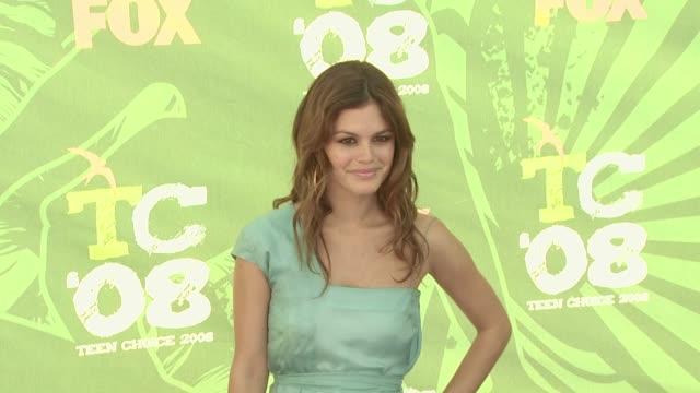 Rachel Bilson at the 2008 Teen Choice Awards at Los Angeles CA
