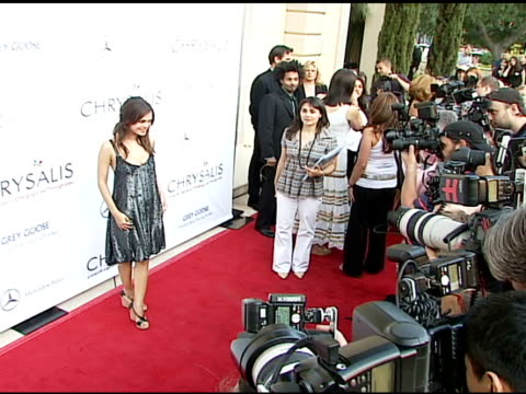 Rachel Bilson at the Chrysalis' Fifth Annual Butterfly Ball at Private residence in Bel Air California on June 10 2006
