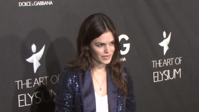 Rachel Bilson at the DG Flagship Boutique Opening Benefiting the Art of Elysium at Los Angeles CA