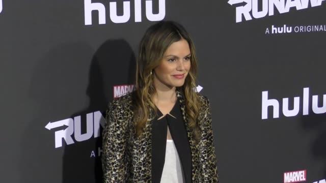 Rachel Bilson at the Premiere Of Hulu's 'Marvel's Runaways' on November 16 2017 in Los Angeles California
