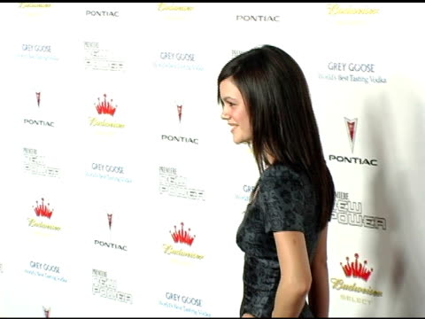 Rachel Bilson at the Premiere The New Power at the Roosevelt Hotel in Hollywood California on June 15 2005