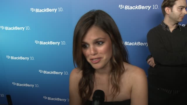 INTERVIEW Rachel Bilson on her love for Blackberry on always being a Blackberry user at BlackBerry Celebrates The Launch Of BlackBerry Z10 Smartphone...