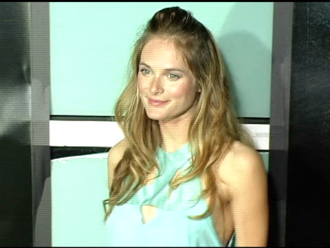 rachel blanchard at the 'amityville horror' worldwide premiere at the cinerama dome at arclight cinemas in hollywood california on april 7 2005 - rachel blanchard stock videos and b-roll footage