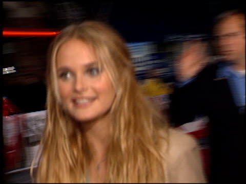 rachel blanchard at the 'sugar and spice' premiere at the bruin theatre in westwood california on january 24 2001 - rachel blanchard stock videos and b-roll footage