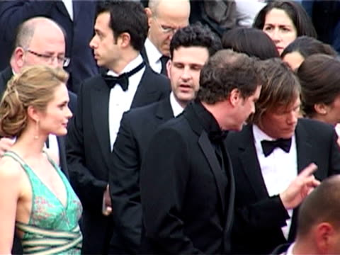 rachel blanchard colin firth kevin bacon and atom egoyan at the cannes 2005 film festival 'where the truth lies' premiere at cannes - rachel blanchard stock videos and b-roll footage