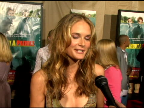 rachel blanchard on her character in the film at the 'without a paddle' world premiere arrivals at paramount studios in hollywood california on... - rachel blanchard stock videos and b-roll footage