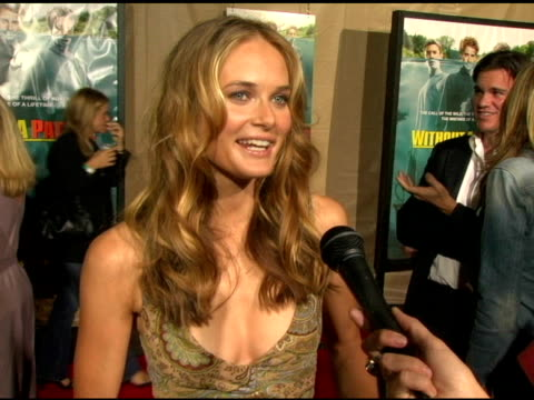 rachel blanchard on the cast's antics at the 'without a paddle' world premiere arrivals at paramount studios in hollywood california on august 16 2004 - rachel blanchard stock videos and b-roll footage