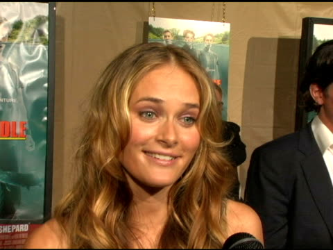 rachel blanchard on the fun of the shoot and the beauty of new zealand at the 'without a paddle' world premiere arrivals at paramount studios in... - rachel blanchard stock videos and b-roll footage