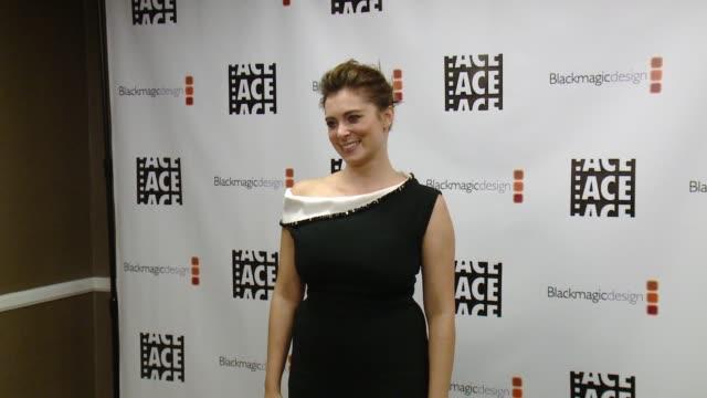 Rachel Bloom at 67th Annual ACE Eddie Awards in Los Angeles CA