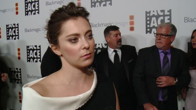 INTERVIEW Rachel Bloom on hosting tonight's event On why she loves editors On what she's most looking forward to tonight at 67th Annual ACE Eddie...