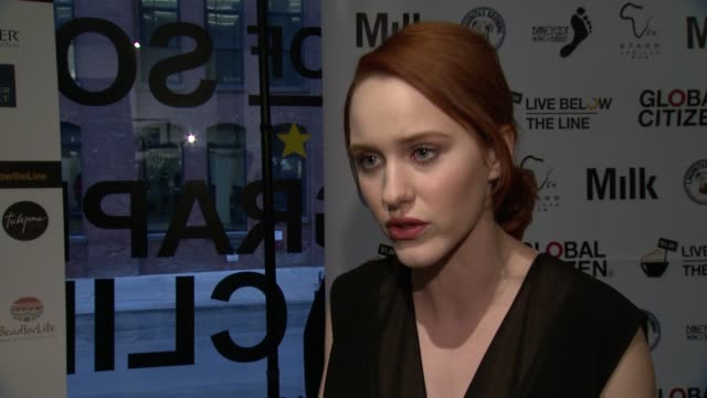 rachel brosnahan on doing the challenge in santa fe last year and this year, says she dedicated her challenge to care last year, on the toughest... - last stock videos & royalty-free footage