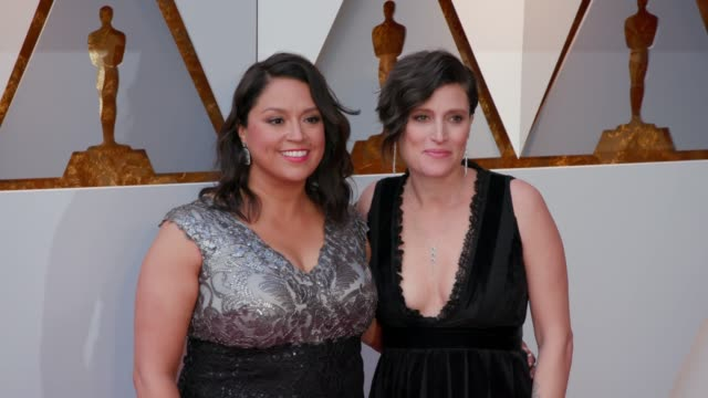Rachel Garza and Rachel Morrison at Dolby Theatre on March 04 2018 in Hollywood California