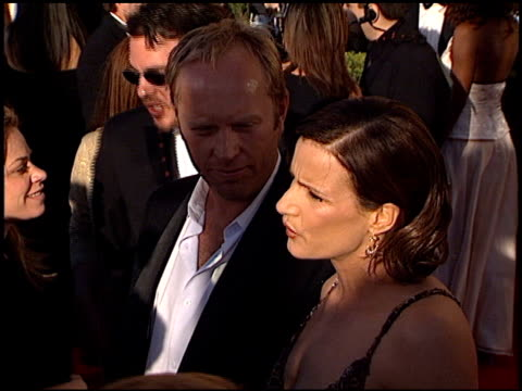 rachel griffiths at the 2002 screen actors guild sag awards at the shrine auditorium in los angeles, california on march 10, 2002. - shrine auditorium stock videos & royalty-free footage