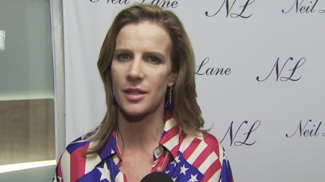 Rachel Griffiths on attending tonight's event on the jewelry she's wearing on the appeal of Neil's jewelry and on her well wishes to Neil and his...