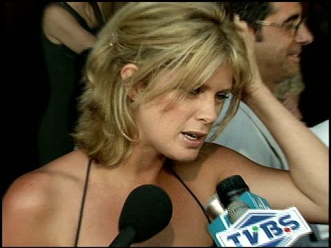 rachel hunter at the 'runaway bride' premiere on july 25 1999 - runaway stock videos & royalty-free footage
