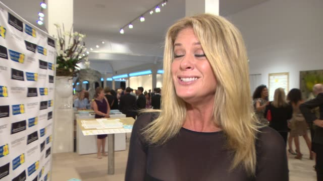 interview rachel hunter on looking good and keeping fit and the charity at masterpiece marie curie summer party in partnership with jaeger lecoultre... - heather hunter stock videos & royalty-free footage