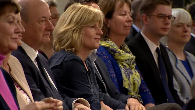 Rachel Johnson at Change UK European election launch in Bristol as she is running as a candidate