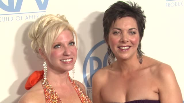 Rachel Klein Dana Kuznetzkoff at the 2011 Producers Guild Awards at Beverly Hills CA