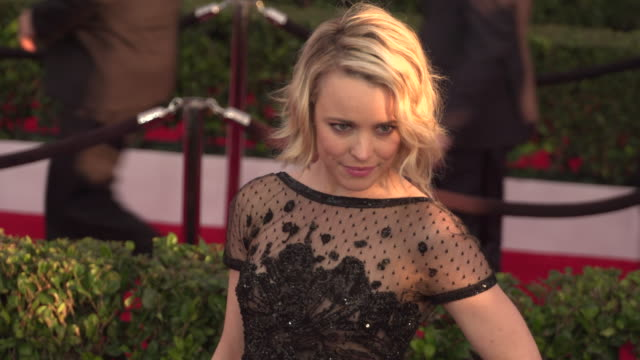 rachel mcadams at the shrine auditorium on january 30, 2016 in los angeles, california. - screen actors guild stock videos & royalty-free footage