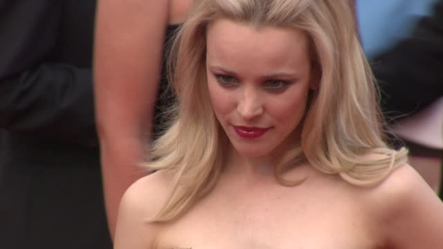 rachel mcadams at the sleeping beauty premiere 64th annual cannes film festival at cannes - amrapali stock videos & royalty-free footage