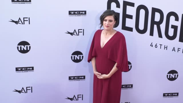 rachel morrison at the american film institute honors george clooney with 46th afi life achievement award at dolby theatre on june 07 2018 in... - american film institute bildbanksvideor och videomaterial från bakom kulisserna