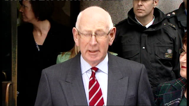 robert napper pleads guilty england london photography *** andrew nickell speaking to press as standing next to monica nickell sot - robert napper stock videos & royalty-free footage