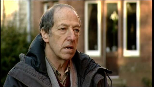 robert napper pleads guilty professor david canter interview sot - robert napper stock videos & royalty-free footage
