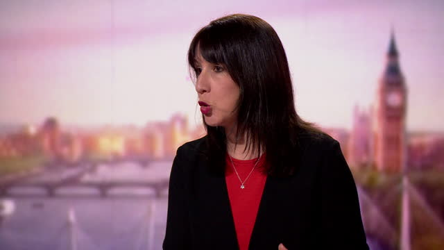 """rachel reeves saying carwyn jones had nothing to do with greensill - """"bbc news"""" stock videos & royalty-free footage"""