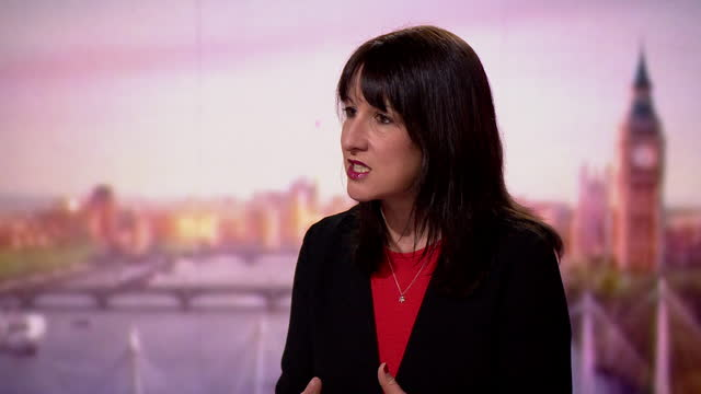 """rachel reeves saying """"standards have fallen so far"""" under successive conservative governments - """"bbc news"""" stock videos & royalty-free footage"""
