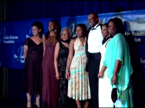 rachel robinson and guests at the the 2007 annual jackie robinson awards dinner at the waldorf astoria hotel in new york, new york on march 5, 2007. - waldorf astoria new york stock videos & royalty-free footage