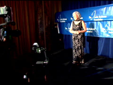 rachel robinson at the the 2007 annual jackie robinson awards dinner at the waldorf astoria hotel in new york, new york on march 5, 2007. - waldorf astoria new york stock videos & royalty-free footage