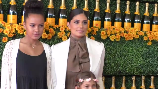 Rachel Roy and Ava Dash at the sixth annual Veuve Clicquot Polo Classic at Will Rogers Historic State Park in Pacific Palisades at Celebrity...