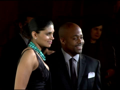 rachel roy and dame dash at the 2006 cipriani/deutsche bank concert series benefiting amfar at cipriani in new york, new york on april 19, 2006. - マンハッタン チプリアーニ点の映像素材/bロール