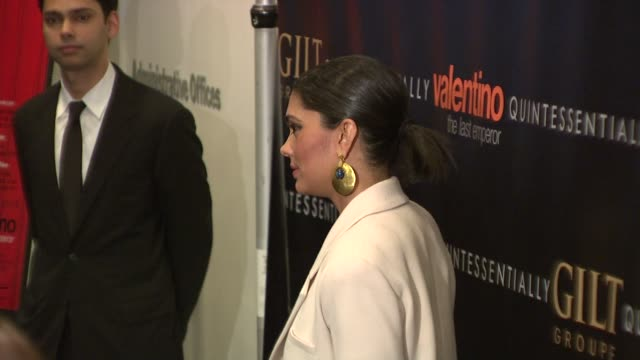 rachel roy at the valentino: the last emperor premiere at new york ny. - rachel roy designer label stock videos & royalty-free footage