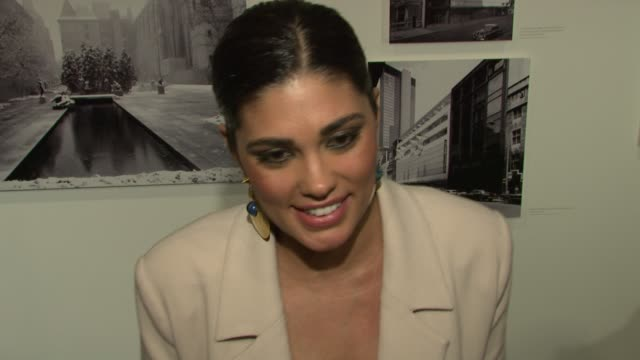 rachel roy says her admiration for valentino is what brought her out tonight. she says she doesn't know if she'd let someone do a documentary on her,... - rachel roy designer label stock videos & royalty-free footage