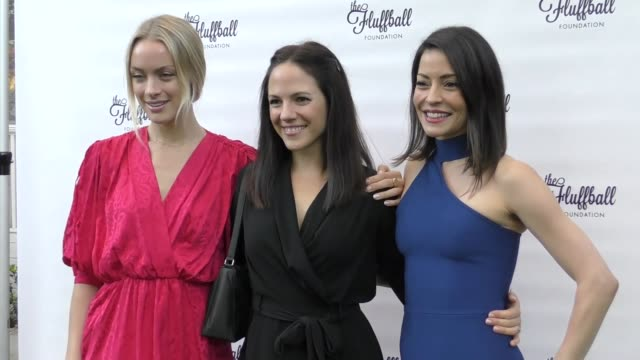 Rachel Skarsten Anna Silk and Emmanuelle Vaugier at The 2017 Fluffball at Lombardi House on November 04 2017 in Los Angeles California