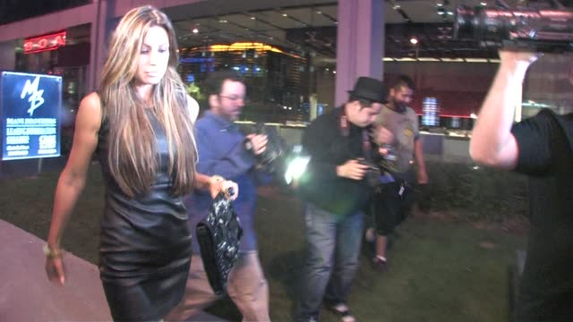 Rachel Uchitel leaving Boa in West Hollywood at the Celebrity Sightings in Los Angeles at Los Angeles CA