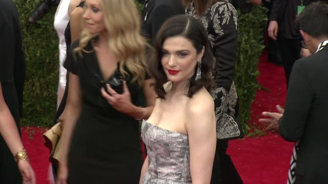 Rachel Weisz at China Through The Looking Glass Costume Institute Benefit Gala Arrivals at Metropolitan Museum of Art on May 04 2015 in New York City