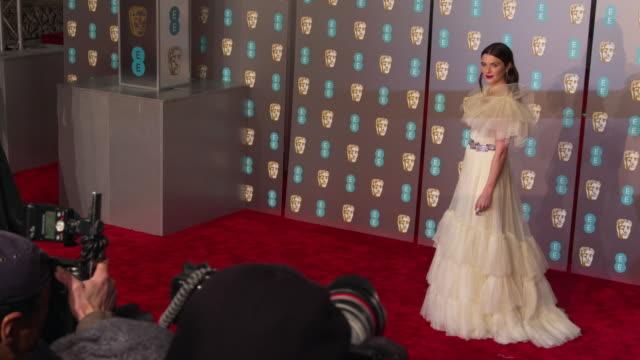 rachel weisz at ee british academy film awards 2019 at royal albert hall on february 10 2019 in london england - rachel weisz stock videos & royalty-free footage